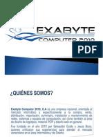 Presentación Exabyte Computer 2010