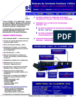 UCHV 110Vcc - 2U - 2 x 3000 W-27A - INFO