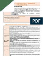 Partie 7. Des Questions a Dimension Metacognitive