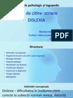 Dislexia Diagnostic PowerPoint