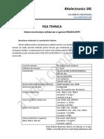 RA2641105P - Fisa Tehnica Sistem monitorizare calitate aer