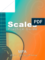 Scales Practice Guide, By Merce Font (MFA Academy)