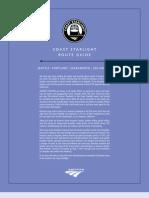 Coast Starlight Route Guide 8.5x11