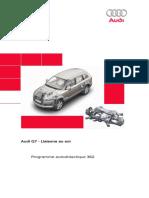 SSP 362 Audi Q7 - Liaisons au sol