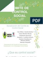 Presentacion del comite de control social (1) (1)