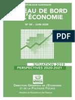 tableau de bord de l'économie gabon