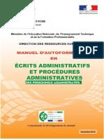 Rédaction Administrative