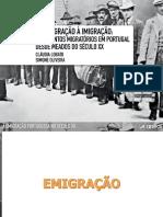 PPT 9 - Evolução da emigração
