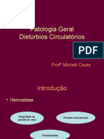 Patologia Gera Distúrbios circulatórios