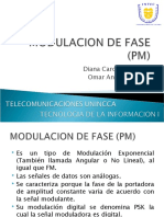 Modulacion de Fase (Pm)