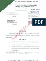 Erik Cherdak vs. Nordstrom Patent infringement