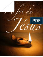 Étude biblique - La foi de Jésus  (2)