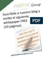 Evaluación de Desempeño / FREE whitepaper (10 pg)
