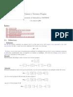matriz vector propio