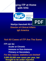 ITP for IVIG presentation