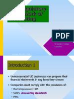 The Regulatory Framework of Accounting