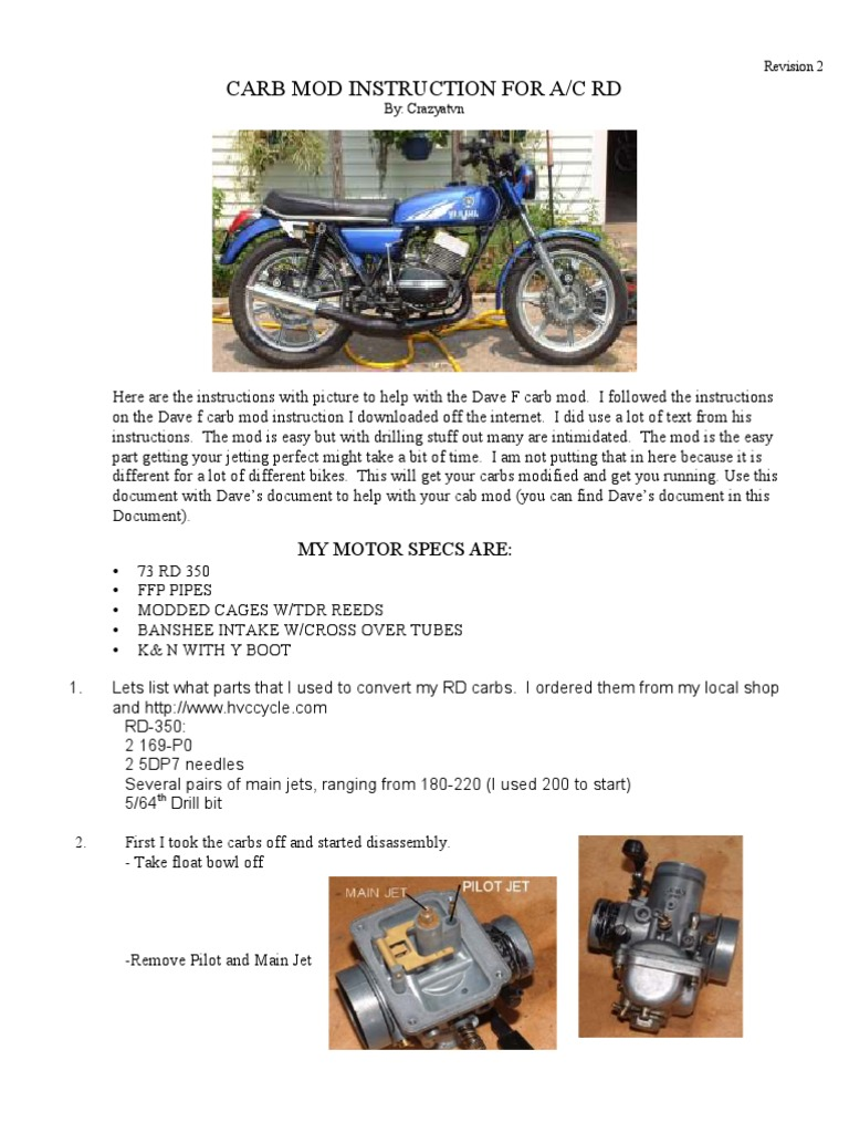 Dave_F_W-Pictures | Carburetor | Engine Technology