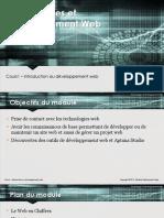 Cours 1 - Introduction Au Développement Web