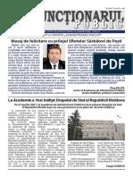 Ziarul Funcționarul public, nr. 8 (597)