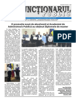 Ziarul Funcționarul public nr. 6 (595)