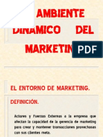 El Ambiente Dinamico Del Marketing