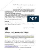 Why Anthropology of Childhood_ a Short History of an Emerging Dis