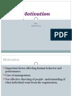 MOTIVATION I SEM