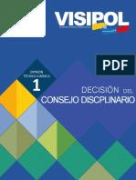 Opini_n N_ 1 - Decisi_n Del Consejo Disciplinario