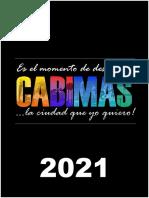 CALENDARIO CABIMAS 2021