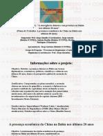 Projeto PIBIC-UFBA