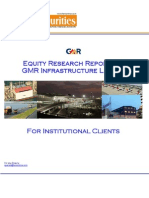 GMR Infrastructure Limited - Equity Research Report