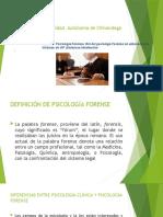 ROL DEL PSICOLOGO  FORENSE  -UACH CURSO 2020