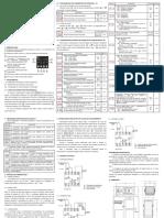 manual controle de temperatura inv-5822