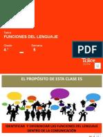 LE- 4to -Funciones del lenguaje (AUDIO)