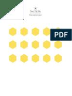 SCP Bee Printable 3