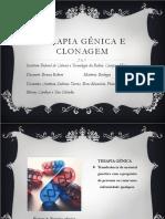 Terapia Gênica e Clonagem