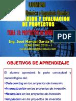 PROYECTOS DE MODERNIZACION