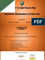 Proyecto Alfabetizador de Áreas Integradas PDF