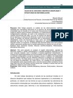 Arbusti, Marcia y Romanini, Lucía (2018) Estructuras iniciales en el discurso científico-disciplinar y estructuras de reformulación