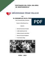 El Desempleo en El Peru Grupo 5 (2)