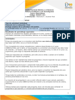 Guia de actividades y Rúbrica de evaluación - Momento 5 - Examen tipo Saber pro