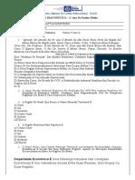Avaliação Diagnóstica 1º Ano -  GEOGRAFIA 14-04