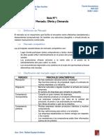 GUÍA 1. MERCADOS, OFERTA Y DEMANDA (1)