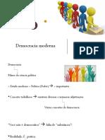 Democracia moderna 05-04-2019