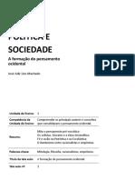 ÉTICA, POLÍTICA E SOCIEDADE A formação do pensamento ocidental José Adir Lins Machado