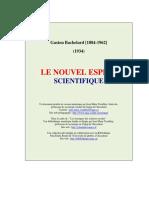 G. Bachelard_Le nouvel esprit scientifique_Introduction
