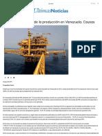 Abrebrecha _ Caída de la producción en Venezuela. Causas