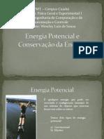 Energia Potencial e Conservação da Energia