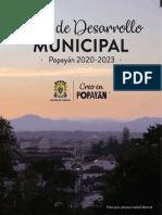 PDM_Plan de Desarrollo Popayán 2020 - 2023_VF