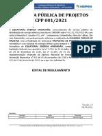 Edital Chamada Pública Equatorial Maranhão CPP 001_2021